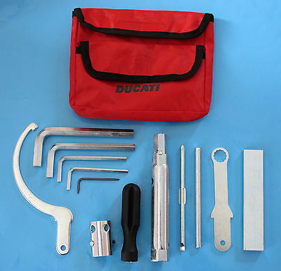 Ducati 748/916 /996/998/toolkit Genuine Factory Toolkit