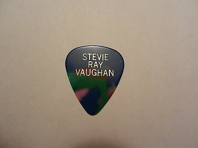 Very Rare 80's Stevie Ray Vaughan Tour Guitar Pick Picks
