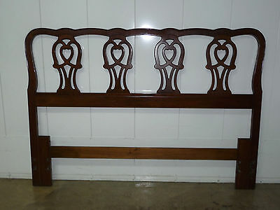 Vintage Traditional Thomasville Queen Size Solid Cherry Headboard 102011