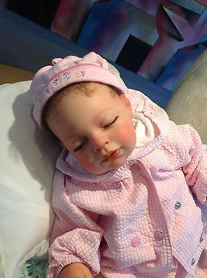 "Abigail, New By Reva Schick 21"", 4/5lbs Chunky Reborn Baby Girl Very Lovely,"