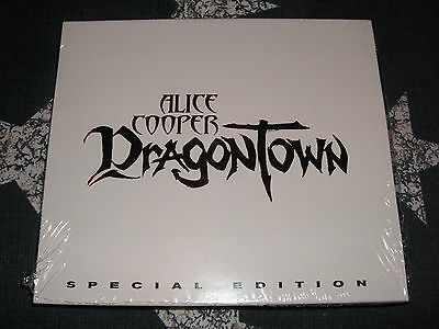 ALICE COOPER - Dragontown (2001) RARE 2 CD SPECIAL EDITION!! *UNPLAYED*