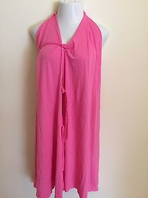 New Women's Pretty Pushers Labor Gown Cotton Pink Plus Size 18-26 Pre-Pregnancy