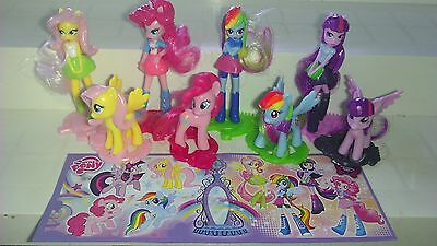 My little Pony, EU, Ferrero, Kinder, compl. set with all Bpz