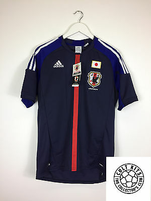 JAPAN 12/13 *BNWT* Home Football Shirt (M) Soccer Jersey Adidas
