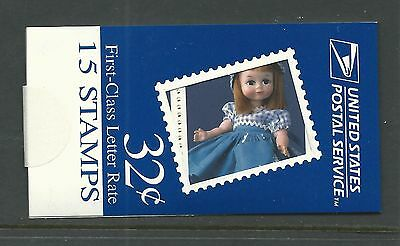 Bk266 Plate 22222 Mdi Booklet Dolls Unopened Nh Xf