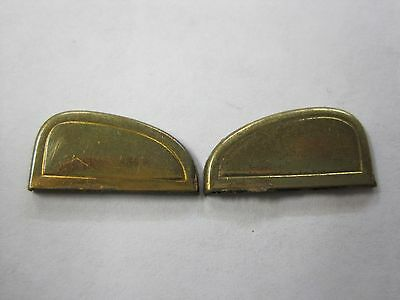 Evans Spitfire lighter repair part snuffer plunger side fulcrum covers gold tone