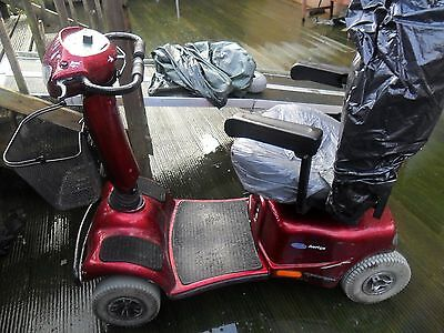 INVACARE Auriga MOBILITY SCOOTER  tiller head   8 mph scooter