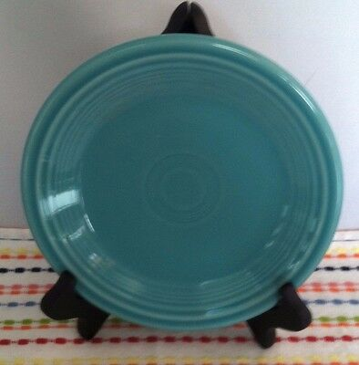 Fiestaware Turquoise Salad Plate Fiesta 7 1/4 inch Blue Small Plate