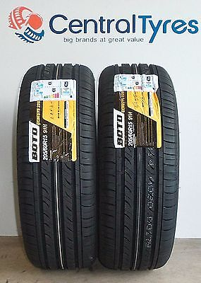 X2 New 205 60 R15 91H Boto Genesys 228 With Amazing C+E Rating Cheap On Ebay