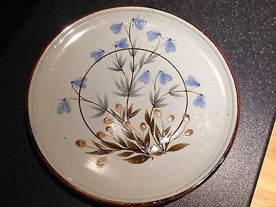 Highland Stoneware dining service hand painted, all pieces individual.