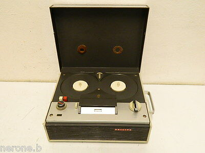 Philips El3551/00 Registratore A Bobine Reel To Reel Tape Recorder #rs58