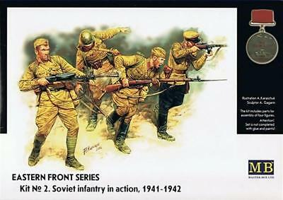 MASTER BOX MB3523 Soviet Infantry in action (1941-42) 1:35