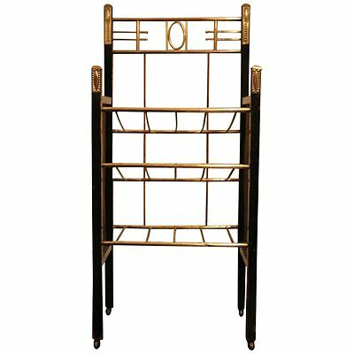 Vienna Secession Etagere Magazine Stand in the Style of Moser and Hoffmann