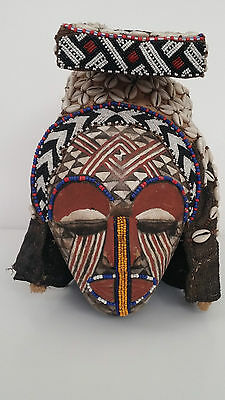 KUBA Ngaady Amwaash African Tribal Mask