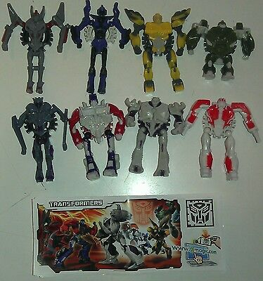 Transformer 1, Test Germany, Ferrero, Kinder, compl. set with all Bpz