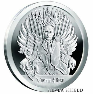 2017 Winter Is Here Proof Silver Shield *Pre-Sale* Mico-Mintage First in Series