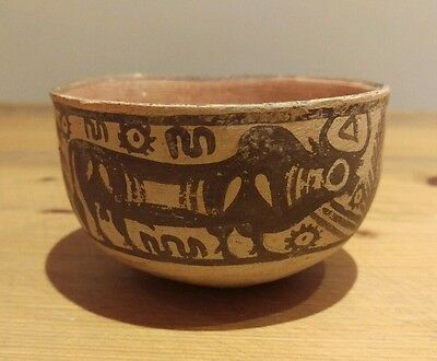 An Indus Valley pottery bowl circa 3000 - 2000 BC