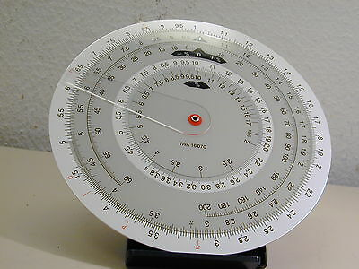 Iwa Vintage German  Circular Slide Rule,  Iwa 16 070