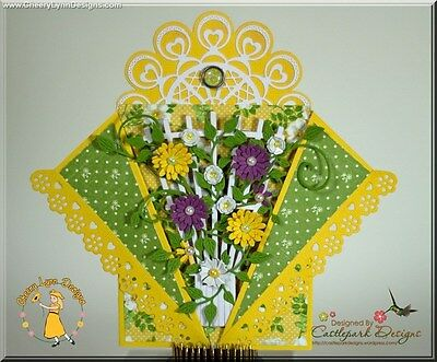 Cheery Lynn Trellis die - for use in most cutting systems