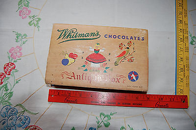 VTG Whitman's Chocolate candy box 1947