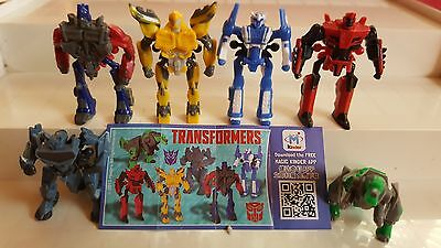 Transformers 2, Austria, Ferrero, Kinder, compl. set with all Bpz
