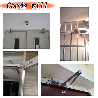 T90 25-45KG Aluminum Door Closer Two Independent Valves Control Sweep Useful