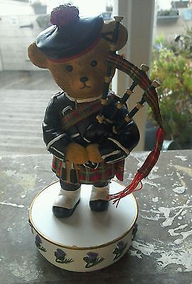 Faithfull Fuzzies Musical Bear Plays Flower Of Scotland