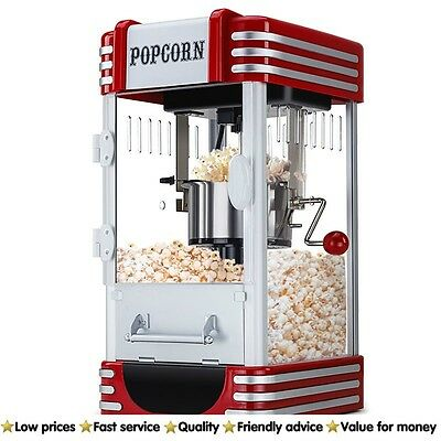 Popcorn Machine Microwave NEW Eurochef Popper Popping Classic Cooker Theatre