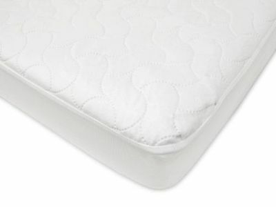 """American Baby Fitted Crib / Toddler Bed Waterproof Quilted Pad 28"""" x 52"""""""
