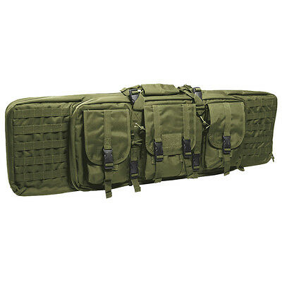Large Rifle Case Tactical Padded Gun Bag Molle Airsoft Shooting Hunting Olive