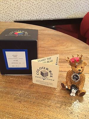 Colour Box Peter Fagan Johnnie Bear Teddy Collection Signed Jean Fergussson