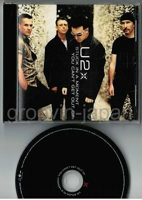 """U2 Stuck In A Moment You Can't Get Out Of JAPAN 5"""" MAXI CD UICI-5003 w/PS"""