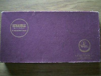 Scrabble, Vintage, T.R. Upson, Complete and very good condition