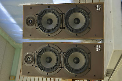 SPEAKERs B & W DM220, 1 pair , local pick up only
