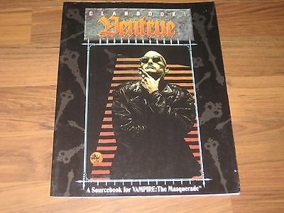 Vampire The Masquerade Clanbook Ventrue 1994 White Wolf WW2058
