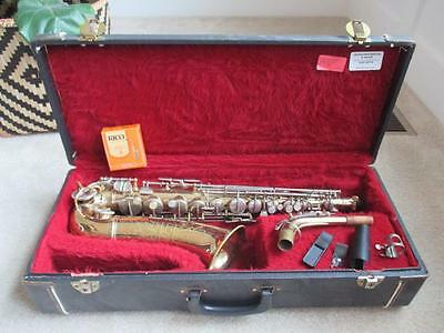 Vintage 1960 Conn Shooting Stars Alto Saxophone W/ CASE NICE PLAYER Sax