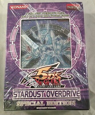 Yugioh Stardust Overdrive Special Edition Trading Card Game New