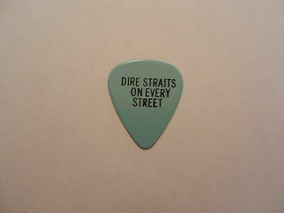 Very Rare Dire Straits (Mark Knopfler) Tour Guitar Pick Picks