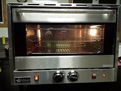 Used Holman Ccoh-3 Half Size Countertop Convection Oven