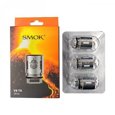 Genuine SMOK TFV8 Coil | V8-T8 V8 T8 Coil | Pack of 3 Coils The Cloud Beast Head
