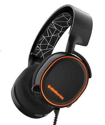 SteelSeries Arctis 5 Gaming Headset with RGB Illumination and DTS Headphone:X 7.