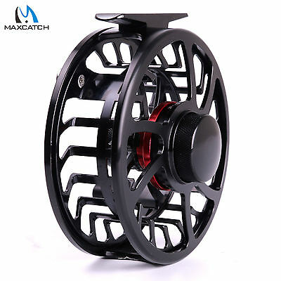 Maxcatch 9/10WT Aluminum Fly Reel Exclusive CNC Machined Super Light Fishing HVC