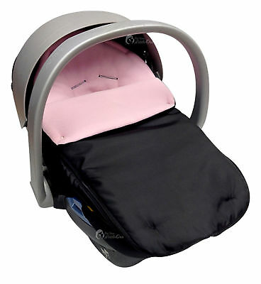 Car Seat  Footmuff / Cosy Toes Compatible with Mamas and Papas Light Pink