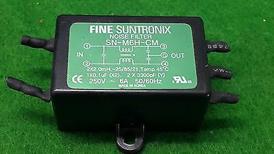 Fine Suntronix	SN-M6H-CM NOISE FILTER, USED