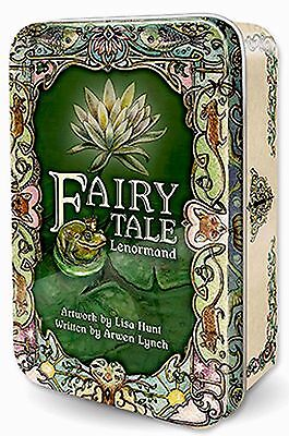 New TIN Fairy Tale Lenormand Tarot Deck Cards 120pg guide Lisa Hunt Arwen Lynch