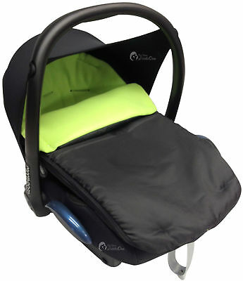 Car Seat  Footmuff / Cosy Toes Compatible with Hauck Lime