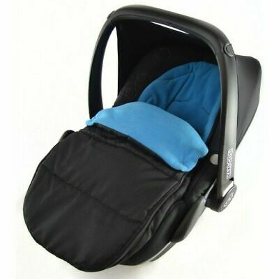 Car Seat Footmuff / Cosy Toes Compatible with Kiddy New born Car seat Ocean Blue