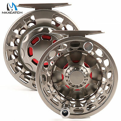 5/6WT Saltwater PROOF CNC Machined Fly Fishing Reel 100% Sealed Left Right Hand