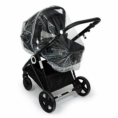 Raincover Storm Cover Compatible with Silver Cross Wayfarer Carrycot Ventilated