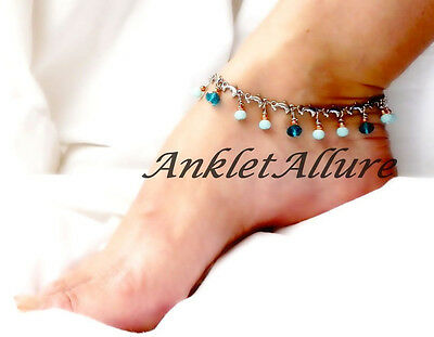 Dolphin Anklet Beach Ankle Bracelet Stainless Steel Body Jewelry Dangle Anklet